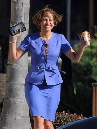Jennifer Lopez se volta para o trabalho após a separação