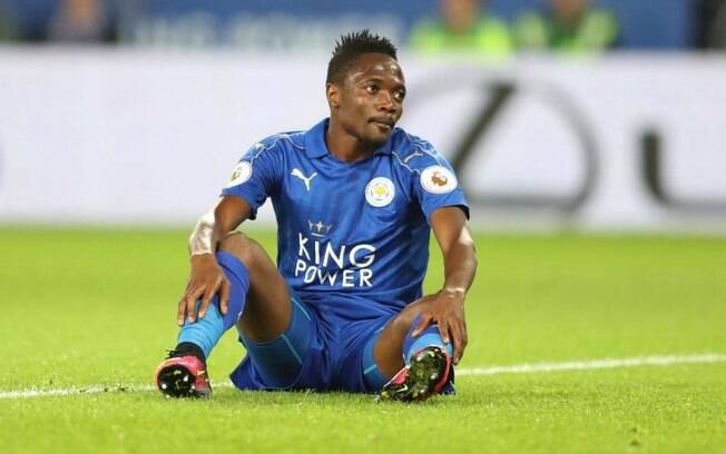 Ahmed Musa, jogador do Leicester City Football Club