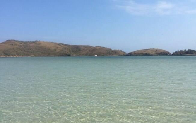 A ilha é ótima para relaxar enquanto observa a vista
