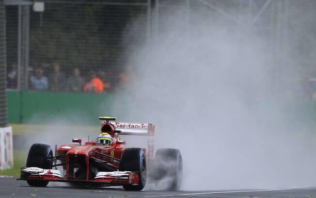 Felipe Massa durante o GP da Austrália