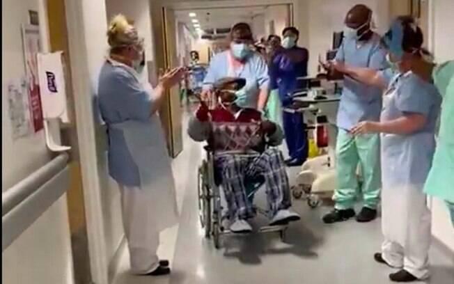 O homem, de 84 anos, foi avisado que seu estado de saúde estava piorando