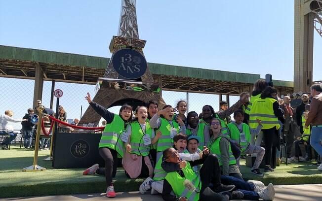 1.300 crianças participaram de evento em comemoração ao 130° aniversário da torre