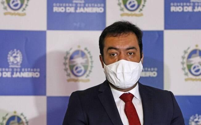 Claudio Castro (foto) foi a Brasília com o presidente da Alerj, André Ceciliano
