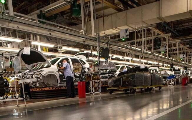 Fábrica da GM na Argentina