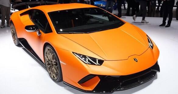 Lamborghini Huracán Performante rouba a cena no Salão de Genebra