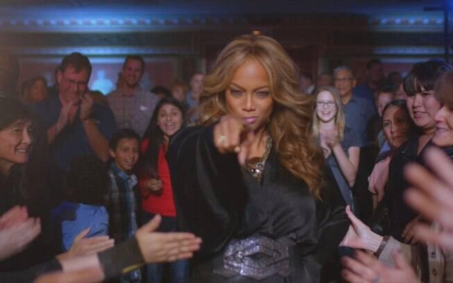 Tyra Banks apresenta o talent-show exibido pelo Sony