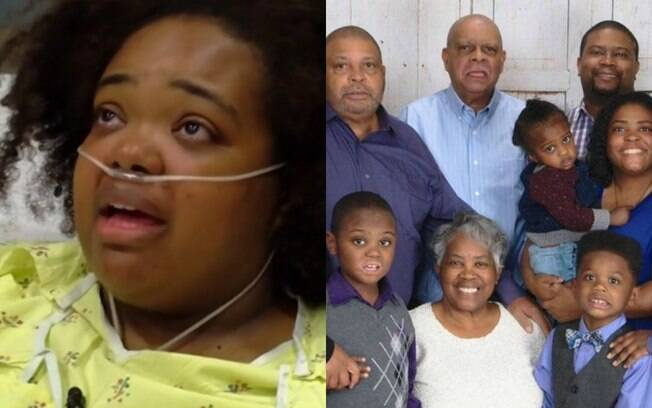 Dos 11 membros da família Coleman no naufrágio nos EUA, apenas dois sobreviveram: Tia Coleman (à esq.) e o sobrinho
