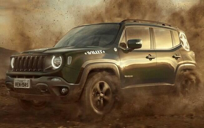 O Renegade Willys  é outra série especial da marca americana, assim como o Jeep Compass S, ambos 2.0 turbodiesel