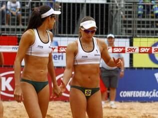 Talita e Larissa vão tentar conquistar o terceiro título consecutivo em Grand Slams nesta temporada