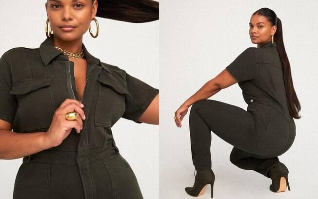 A Good American surgiu de necessidade de Khloé Kardashian e Emma Grede de criar roupas que serviam nelas mesmas e em mulheres que tinham o mesmo problema