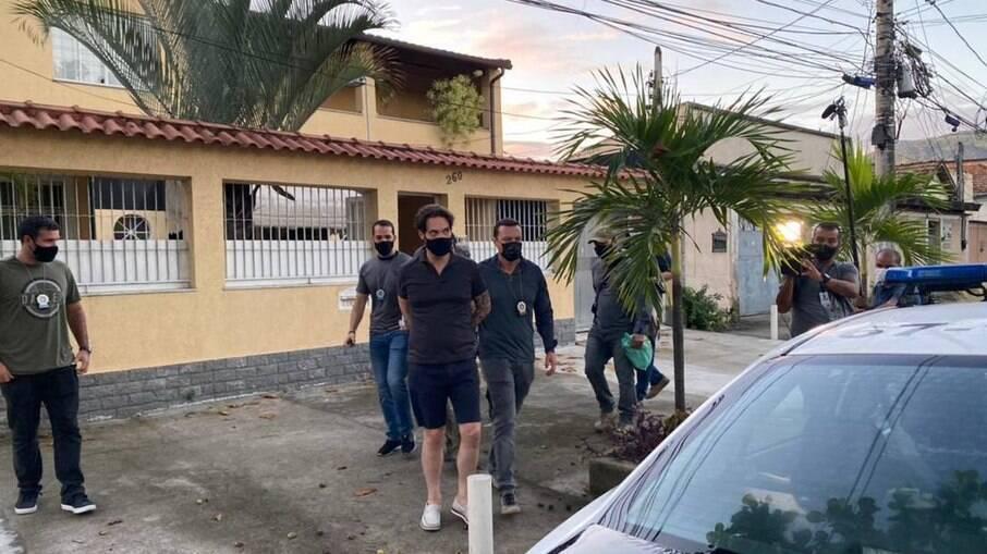 Parlamentar foi preso na casa de uma assessora em Bangu