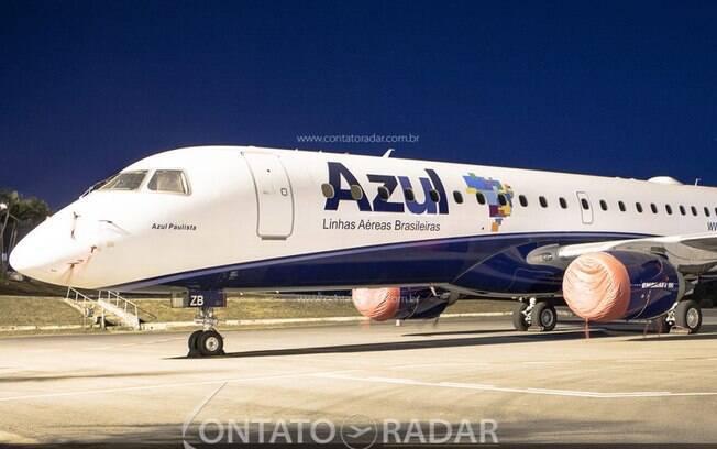 Azul devolve mais um Embraer 190