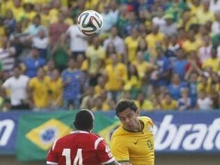 Fred passou em branco na goleada brasileira sobre o Panamá, na última terça-feira