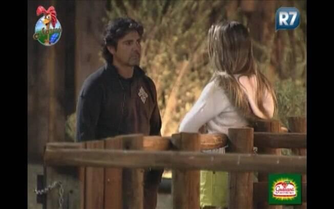Joana Machado se despede de João kleber