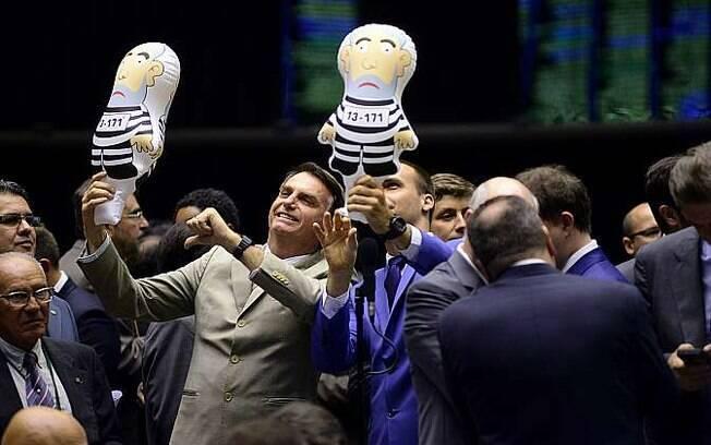 Deputado Jair Bolsonaro (PSC-RJ) é conhecido por seus embates contra políticos e simpatizantes da esquerda