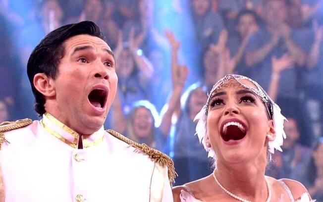 Dança dos Famosos consagra o casal Maria Joana e Reginaldo Sarna como os grandes campeões da temporada