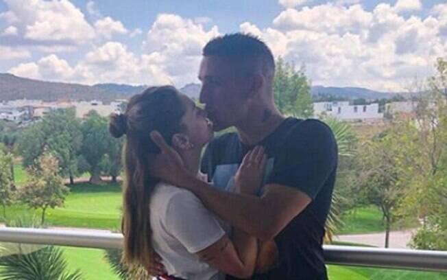 Melody Pasini, namorada do ex-São Paulo Centurión, teve uma parada cardíaca