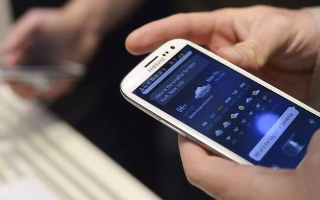 Galaxy S III é um dos smartphones da Samsung, fabricante mais popular entre os aparelhos com Android nos EUA