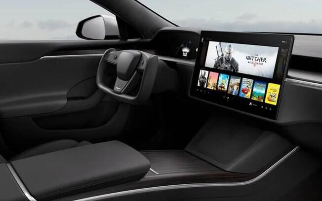 Plataforma de jogos pode chegar a carros da Tesla