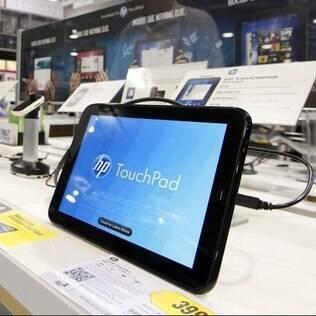 Preço do TouchPad cai após anúncio de que a HP sairá do mercado de tablets e smartphones