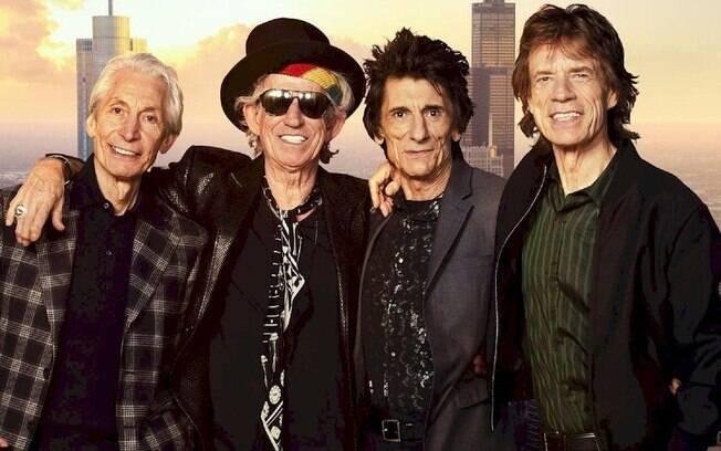 Rolling Stones vão manter turnê nos EUA, diz jornal