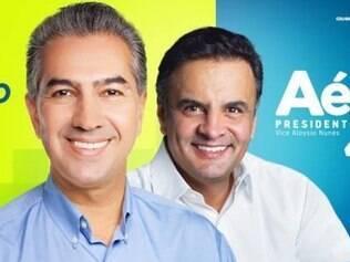 Depois de ser deixado de lado durante o primeiro turno, agora Aécio aparece ao lado de Reinaldo Azambuja na campanha estadual do Rio Grande do Sul