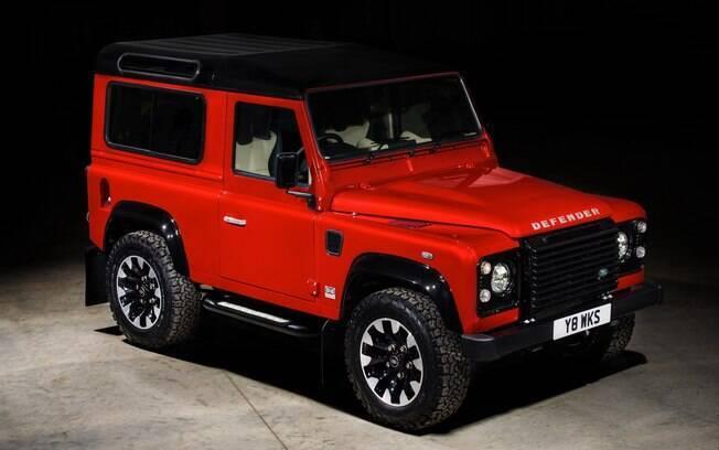 Land Rover Defender estará disponível em oito cores exteriores padrão, incluindo duas com acabamentos de cetim