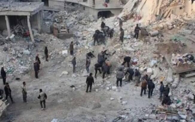 Ataques realizados pelo governo da Síria deixaram mais de 500 mortos em apenas uma semana de 2018