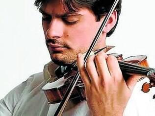 Violonista da Filarmônica de Berlim, Luíz Filíp, é uma das atrações