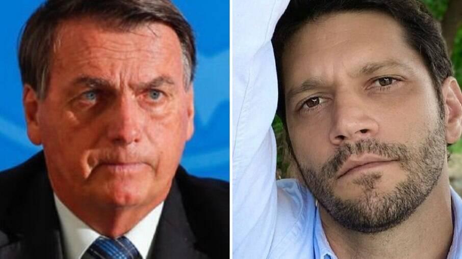 Jair Bolsonaro e Armando Babaioff