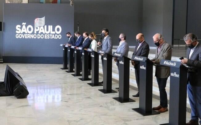 AO VIVO - Governo Doria faz novos anúncios sobre covid-19 hoje