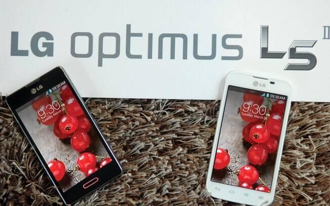 Optimus L5 II é aparelho intermediário na linha da LG de Androids de baixo custo