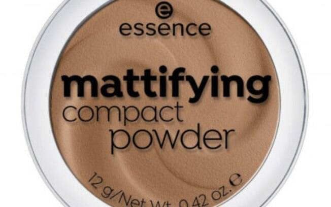 Pó compacto Mattifyng compact, Essence (R$22,90)