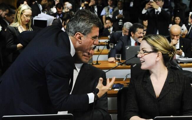 Comissão especial do impeachment no Senado. Foto: Marcos Oliveira/Agência Senado