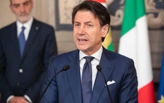 aprovação quaretena Giuseppe Conte primeiro-ministro da Itália