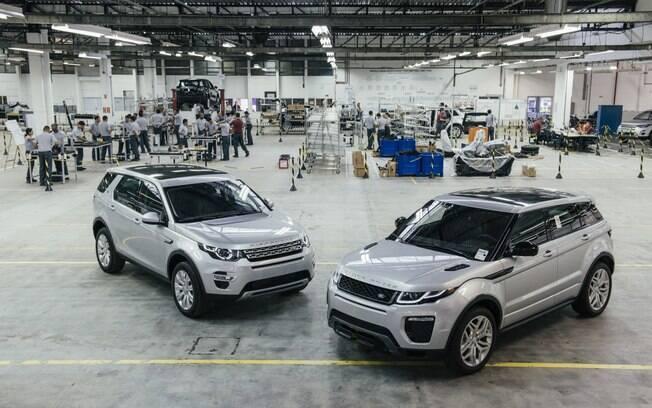 Fabrica da Land Rover