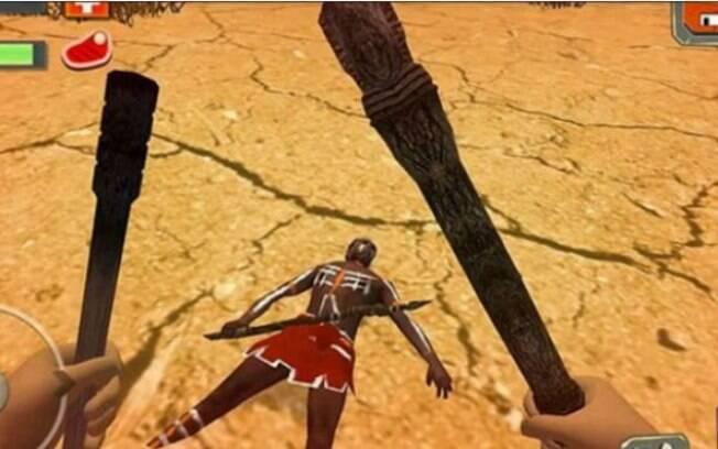 Em Survival Island 3: Australia Story 3D, jogadores recebem recompensas, como armas e comida, ao matar nativos