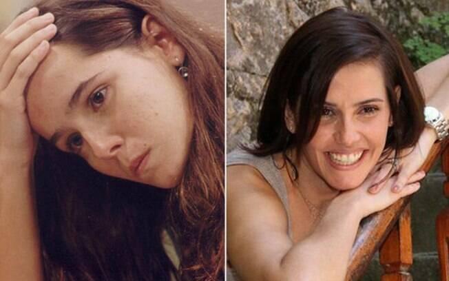 Deborah Secco: aos 16, era Carina na novela de Sílvio de Abreu. Em 2012, aos 33, está em
