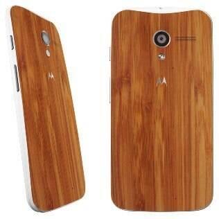 Moto X com traseira de bambu chega ao mercado brasileiro