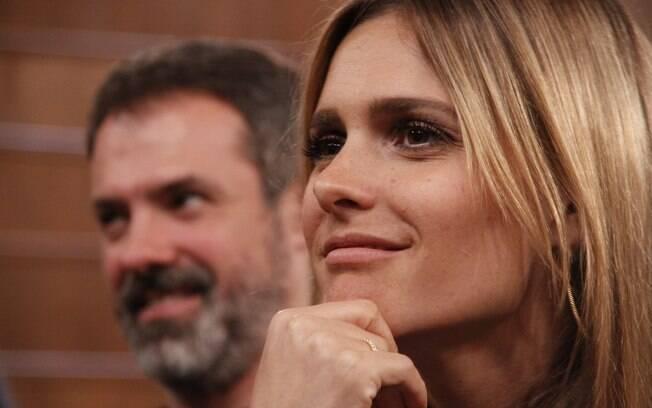 Fernanda Lima: mas à vontade no comando da atração
