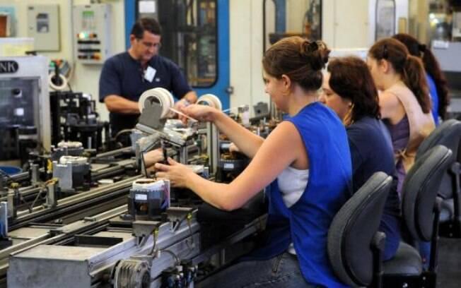 Apenas 21,5% dos produtos tiveram produção maior
