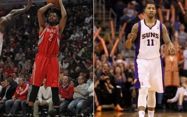 Marcus Morris foi negociado pelo Houston  Rockets e agora vai atuar pelo Phoenix Suns, onde  será companheiro do irmão Markieff Morris