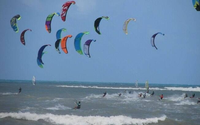 São Miguel do Gostoso é o paraíso para quem gosta de kitesurfe ou windsurfe