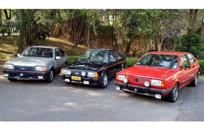 VW Gol GT, Ford Escort XR3 e Chevrolet Monza SR. Qual você prefere? Cada um deles se destaca em algo