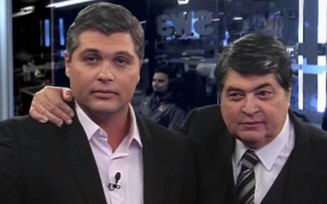 Joel e José Luiz Datena
