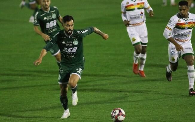 Guarani empata com o Sampaio Corrêa pela Série B
