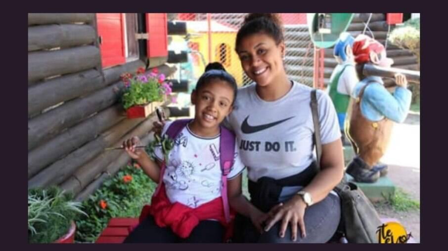 Ágatha Felix e a mãe, Vanessa Francisco