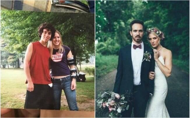 Amor infância de Kevin Walsh salvou a vida dele e 10 anos depois eles se casaram