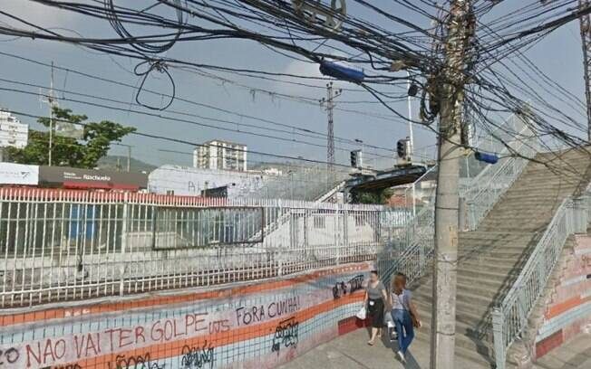 Homem caiu da passarela da estação da SuperVia em Riachuelo