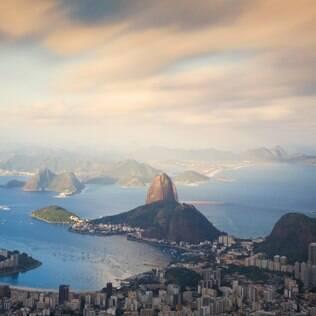 Vista do Pão de Açúcar, uma das paisagens mais marcantes do Rio de Janeiro